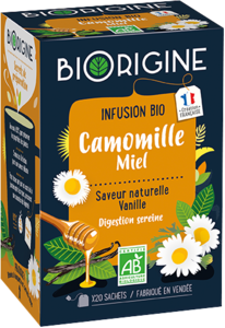 Packaging de Camomille Miel