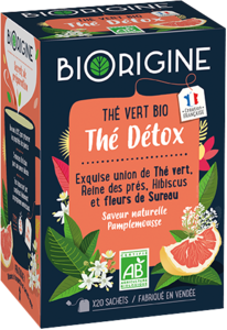 Packaging de l'infusion Détox