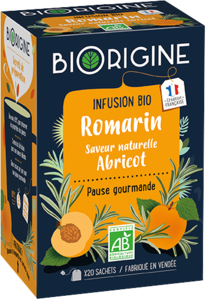 Packaging de Romarin Abricot